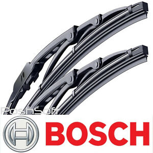 BOSCH DIRECT CONNECT WIPER BLADES size 24 / 17 -Front Left and Right- (SET OF 2)