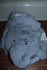 NIP Pottery Barn Kids Elephant plush play mat tummy time blanket