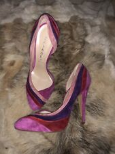 CASADEI Italy Suede Leather Heel Shoes  7 UK 3,5-4 BNWT