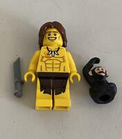 Tarzan Mowgli Monkey LEGO Minifigures Series 7-8831 Jungle Boy