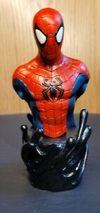 Marvels Amazing Spider-Man 2820/6000 Mini-Bust Sculpted By Randy Bowen 2002 5 In