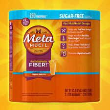 Metamucil MultiHealth Fiber, Sugar Free, 260 Doses New...Sealed!!!