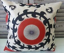 Inca linen blend cushion cover 45 x 45 cms