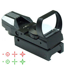UUQ Tactical 4 Reflex Holographic Red Green Dot Sight Scope
