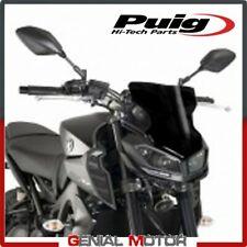 Yamaha Mt-09 2017 PUIG Screen Black Naked Sport Windscreen
