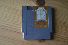 New Legend of Drink Retro Nintendo NES Video Game Cartridge Flask Zelda