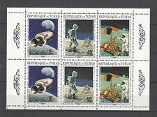 Chad 1970 Sc#25A  NASA  Program-Apollo 11 & 12  MNH Miniature Sheet $12.00