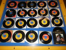 60's - 80's Records 45 RPM Collection NEIL DIAMOND -20 different record lot