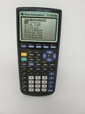 Texas Instruments TI-83 Plus Scientific Graphing Calculator WORKS No Cover