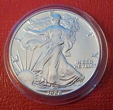 1988 1 oz Silver American Eagle (Brilliant Uncirculated) in Capsule