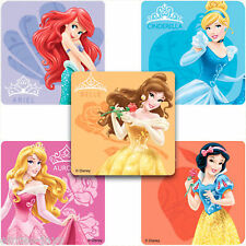 Disney Princess Stickers x 10 - Party Favours - Belle Birthday Aurora Cinderella