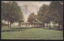 Postcard Springfiled Missouri/Mo Golf Course Country Club House view 1907
