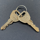 (2) Reese / TowSmart CCP Hitch Keys Cut Key Code P/LB01 - P/LB46 -Free Tracking