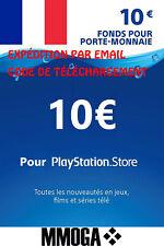 Pour €10 EUR Carte PlayStation Network - 10 EURO Code Jeu - Compte français - FR