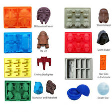 Silicone Death Star Ice Cube Round DIY Mould Pudding Jelly Mold Ice Trays