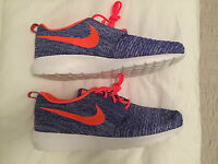 Nike Flyknit Rosherun 677243500 Sneaker Schuhe Blau Gr. 45,5 US 11,5 UK 10,5 NEU