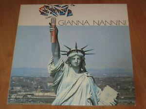 Gianna Nannini - California LP 1979 mit America / TOP