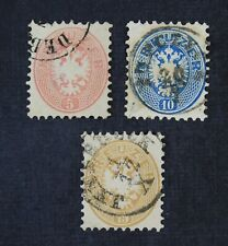 CKStamps: Austria Stamps Collection Scott#19-21 Used