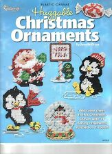 Huggable Christmas Ornaments   ~   plastic canvas book ~ Christmas pattern Book