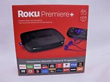 ROKU PREMIER + 4K ULTRA HD HDR HIGH DYNAMIC RANGE STREAMING MEDIA PLAYER 4630R