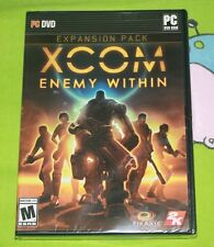 XCOM: Enemy Within - PC  BRAND NEW SEALED in the retail package