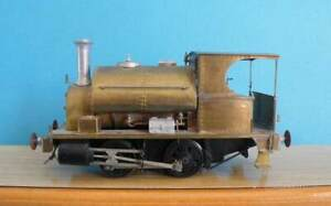 Unknown Make O Gauge 7mm Brass Kit Built Motorised 0-4-0ST GWR Trojan Dock Loco