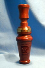 Exceptional Hedge Duck Call By Grover Knoll, Clarendon, Arkansas, Stamped