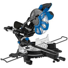 Draper 83678 250MM 2000W 230V SLIDING COMPOUND MITRE SAW WITH LASER CUTTING GUID