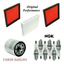 Tune Up Kit Air Cabin Oil Filters Spark Plugs For INFINITI G37 V6 3.7L 2008-2013