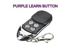 LiftMaster 373LM COMPATIBLE Garage Door Remote PURPLE Learn Button 315mhz freq.