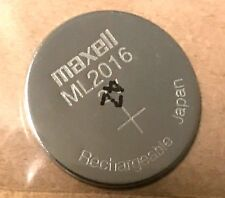 Brand New Maxell ML2016  Rechargeable 2016 3V CMOS Backup Battery