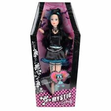 Mystic Girls Gothic Style Doll And Pet Tall Blue Girlz Play Toy Xmas Gift 29cm