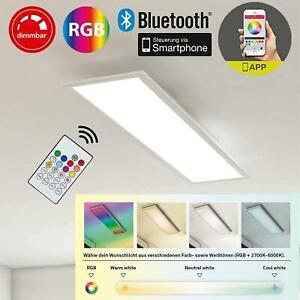 B-Kartonage Deckenleuchte Briloner Piatto LED RGB+CCT über App steuerbar  inkl.