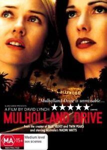 Mulholland Drive DVD David Lynch Movie - Naomi Watts