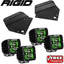 Rigid Radiance LED Fog Light w/ Green Backlight for 10-14 Ford F150 Raptor SVT