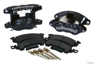 Wilwood D52 Front Caliper Kit - Black Pwdr 2.00 / 2.00in Piston 1.04in Rotor