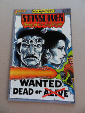 Starslayer 8 . Mike Grell . First 1983 . VF