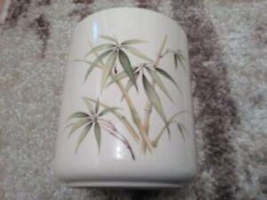 Vintage Table top Vase Flower Pot Office Home Decoration Bamboo design