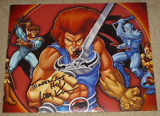 Larry Kenney Authentic Signed 8x10 Photo Autographed, Thundercats, Lion-O Voice