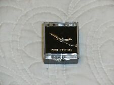 Tack Clasp Pewter Aircraft Tie Clip