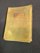 Robert Louis Stevenson WILL O' THE MILL First Ed. Roycroft 1901 Vintage Suede