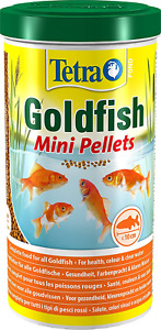 Tetra Pond Goldfish Mini Pellet 1L / 350g - Complete Food For All Goldfish
