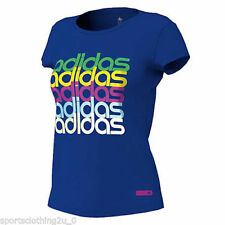 adidas Hip Length Graphic T-Shirts for Women
