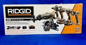 RIDGID R9652 18V 5 Piece Tool Kit (34712-1)