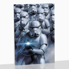 Star Wars Framed Canvas Print Stormtrooper Storm Trooper StarWars Last Jedi Yoda
