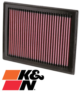 K&N REPLACEMENT AIR FILTER FOR NISSAN MICRA K13 HR12DE 1.2L I3