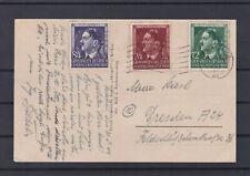 Geburtstagsausgabe 1944 auf Karte gelaufen 31.5.44 nach Dresden