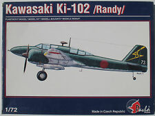 Pavla 72008 - Kawasaki Ki-102 Randy - 1:72 - Flugzeug Modellbausatz - Model Kit