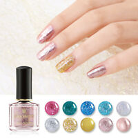 BORN PRETTY 6ml Abschälen Nagellack Nail Polish Glitzer Fast Dry Nails Varnish