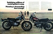 1970 Harley-Davidson SX-250 & SX-175 Motorcycle photo Ltd Edition 2page print ad